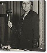 Senator Hattie W. Caraway, Democrat Acrylic Print by Everett