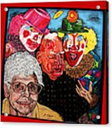 Send In The Clowns Acrylic Print