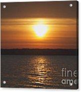 Seneca Lake Sunrise Acrylic Print
