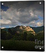 Seneca Rocks At Evening Acrylic Print