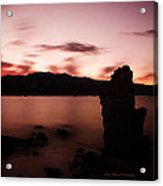 Sentinel Of Mono Lake Acrylic Print