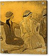 Sepia Hats By Jrr Acrylic Print