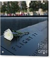 September 11 Memorial Flower Acrylic Print