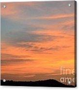 September 27 2012 Sunrise Acrylic Print