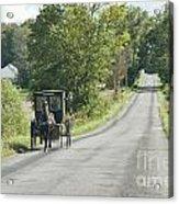 September Roads Acrylic Print