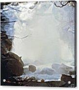 Sequoia Nat Pk Waterfalls Acrylic Print