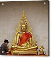 Serene Buddha Acrylic Print