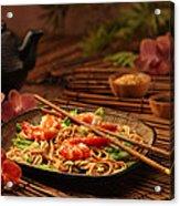 Serene Cuisine Acrylic Print