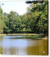 Serene Lake In September Acrylic Print