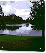 Serenity Lake 4 Acrylic Print
