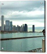 Serenity Of Chicago Acrylic Print