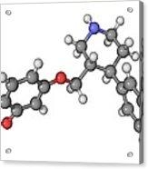 Seroxat Antidepressant Drug Molecule Acrylic Print