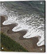 Serrated Waves Acrylic Print