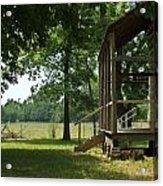 Settlers Cabin Arkansas 2 Acrylic Print