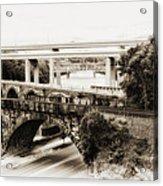 Seven Bridges View Acrylic Print