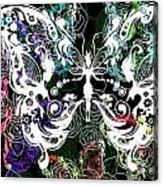 Seven Butterflies Acrylic Print