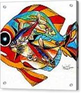 Seven Fish Acrylic Print