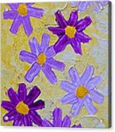 Seven Flowers Acrylic Print