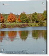 Seven Lakes State Park Mi Acrylic Print by Margrit Schlatter