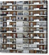 Several Buildings Housing Acrylic Print
