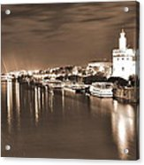 Sevilha By The River Acrylic Print