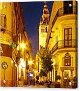 Sevilla At Night Acrylic Print
