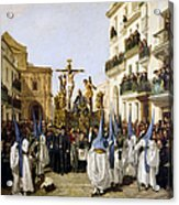 Seville: Good Friday, 1862 Acrylic Print