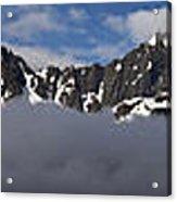 Seward Mountain Range Acrylic Print