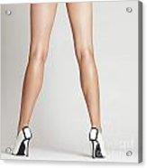 Sexy Long Legs Acrylic Print