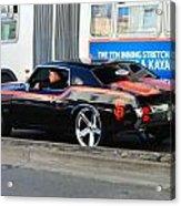 Sf Giants Muscle Car Acrylic Print