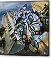 Sf Hyatt Outside Acrylic Print