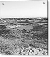 Shackleford Banks Camping Acrylic Print