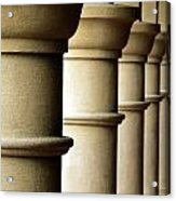 Shadow Columns  Acrylic Print