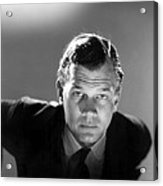 Shadow Of A Doubt, Joseph Cotten, 1943 Acrylic Print by Everett