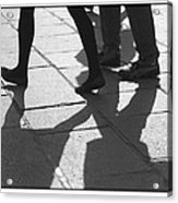 Shadow People Acrylic Print