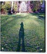Shadows Long Acrylic Print