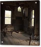 Shadows Of Time Acrylic Print