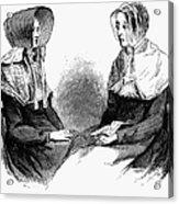 Shaker Women, 1875 Acrylic Print