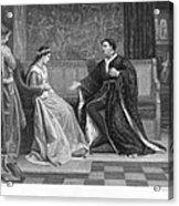 Shakespeare: King Henry V Acrylic Print
