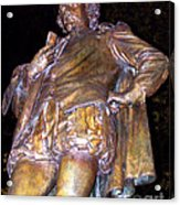 Shakespeare Of Central Park Acrylic Print