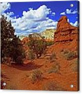 Shakespeare Trail In Kodachrome Park Acrylic Print