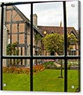 Shakespeares Home Acrylic Print