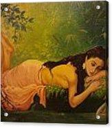 Shakuntala Acrylic Print