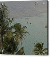 Shallow Waters At The North Shore Acrylic Print