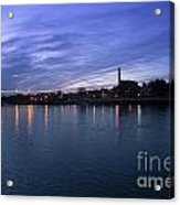 Shannon River Estuary At Limerick Acrylic Print