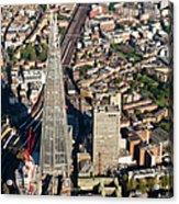 Shard London Aerial View Acrylic Print