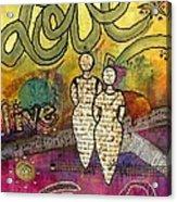 Sharing Grace Acrylic Print