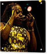 Sharon Jones Acrylic Print
