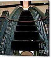 Sharon Temple Stairs Acrylic Print