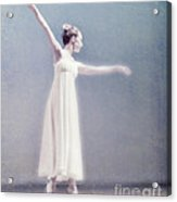 She Dances Acrylic Print by Linde Townsend